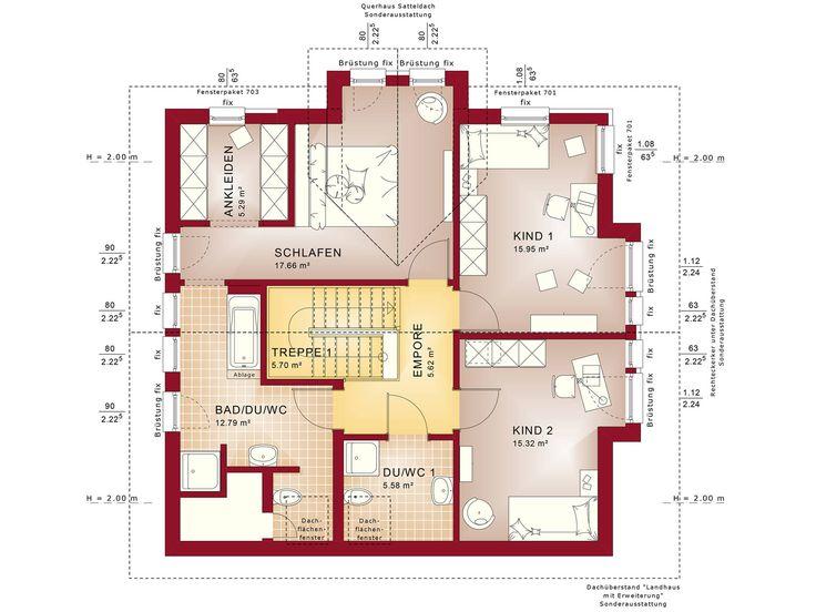 Fantastic 161 V4 – Einfamilienhaus Grundriss DG