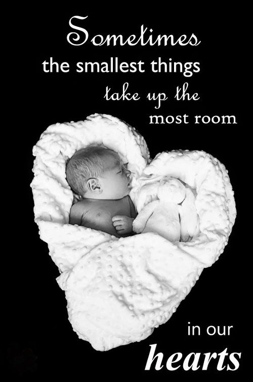 Sometimes the smallest things take up the most room in our hearts!