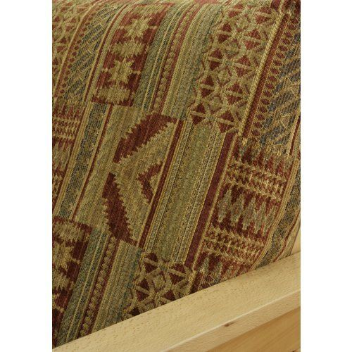 Old Santa Fe Futon Cover Full 222 by SlipcoverShop. $69.00. In Stock - Ships within 2 days. Made in USA.. See Sizing and Product Description below. Made to fit Full size futon mattress measuring 54 inches wide, 75 inches long and up to 8 inches thick. Futon cover features 3 sided, concealed zipper construction. Old Santa Fe fabric offers southwestern motif in traditional color shades of reds, sand and gold. Very rich looking and soft to the touch chenille. This pa...