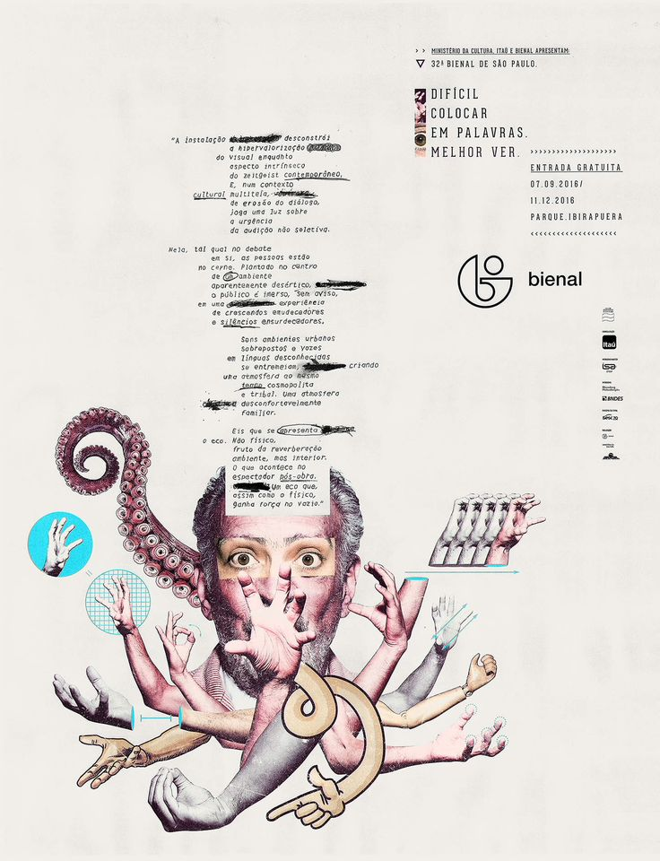 Campanha da 32ª Bienal de São Paulo convida público a fazer sua própria interpretação da arte