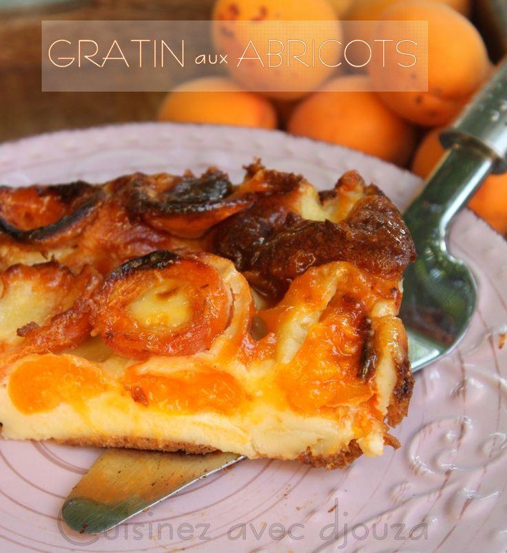 Recette Gratin express aux abricots