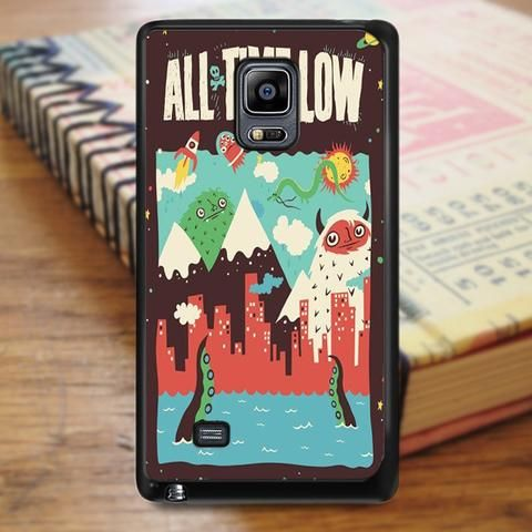 All Time Low Cover Album Art Cartoon Samsung Galaxy Note 3 Case
