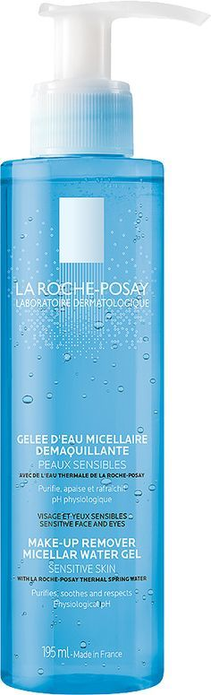La Roche-Posay Make-Up Remover Micellar Water Gel - http://therealredhead.co.uk/best-make-up-remover-ever/