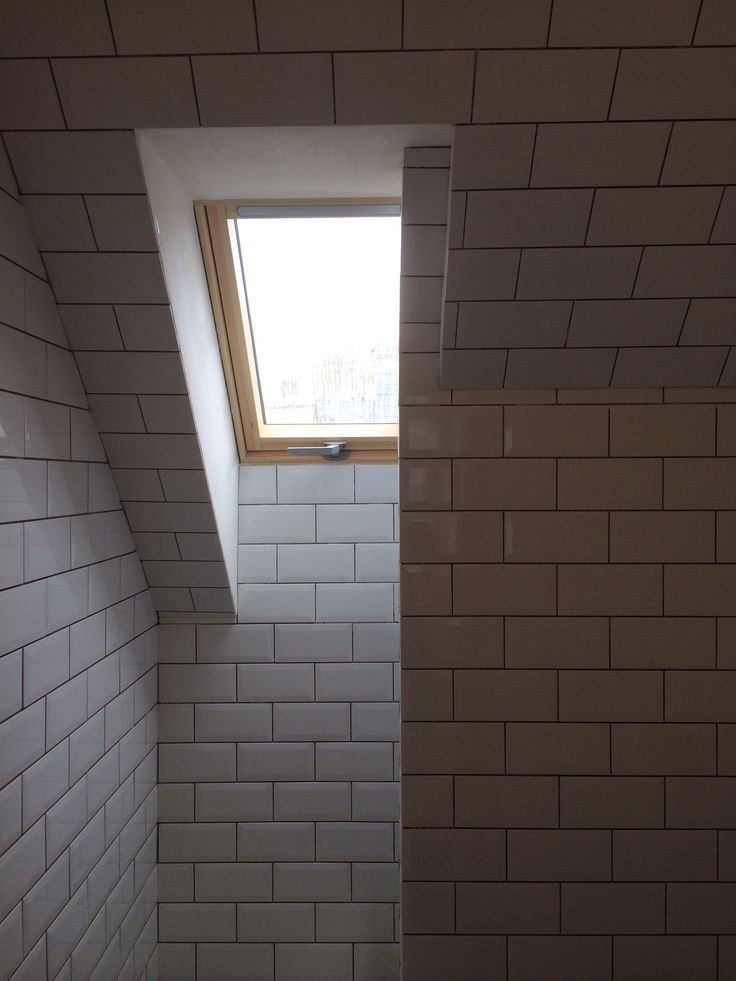 Shower room with rooflight