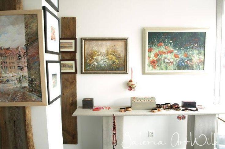Wystawa na Jubileusz XXX-lecia Pracowni Malarstwa Artystycznego ArtWilk. Wmiesiącu czerwcu gościliśmy wGalerii Rondo wWarszawie a wystawą przekrojową.