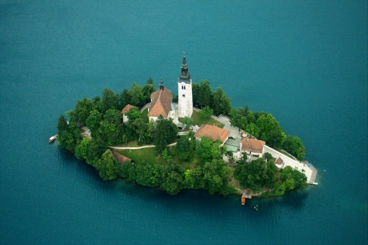 Bled | According to a legend which stayed with the people, the temple of the ancient Slavic goddess Živa, once stood in the place of the present Baroque church. The temple disappeared during battles between the followers of the pagan religion and Christians, who destroyed the altar and built a church.  https://vimeo.com/39444702