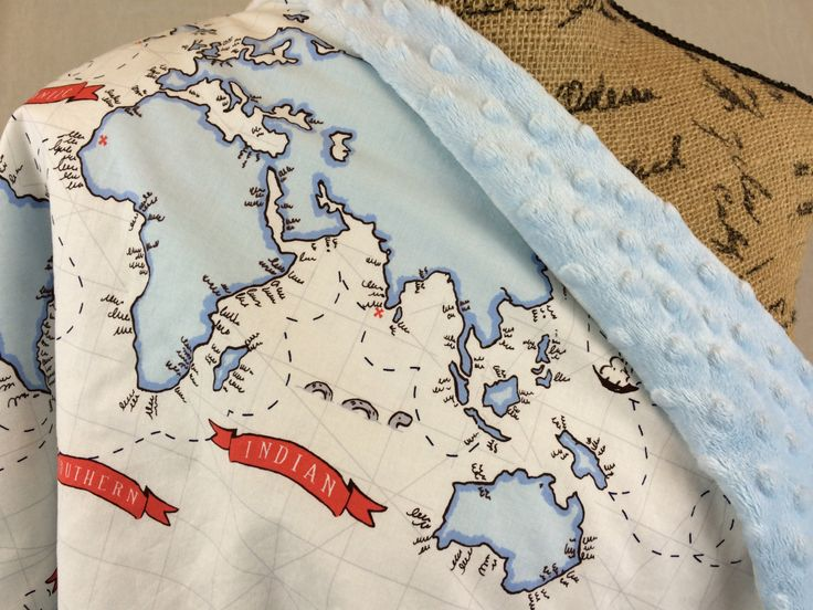Liczba najlepszych obrazw na temat world map pattern na throw blanket baby blanket lap blanket baby blue and white world map with baby blue dot minky fleece blanket world map blanket gumiabroncs Images