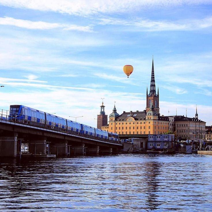 Summertimes in Stockholm  (Photo via @stockholmphotographer )