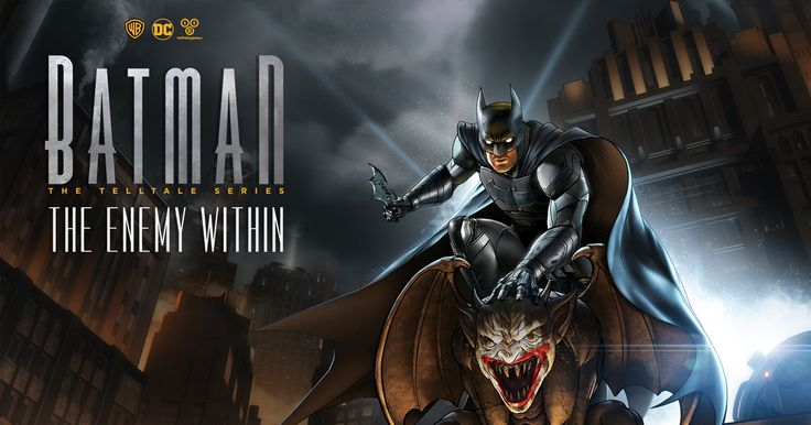 Telltale confirma que su próximo juego es Batman: The Enemy Within, y su primer episodio, The Enigma, estará disponible este próximo día 8 de agosto. - http://j.mp/2u9mu6x