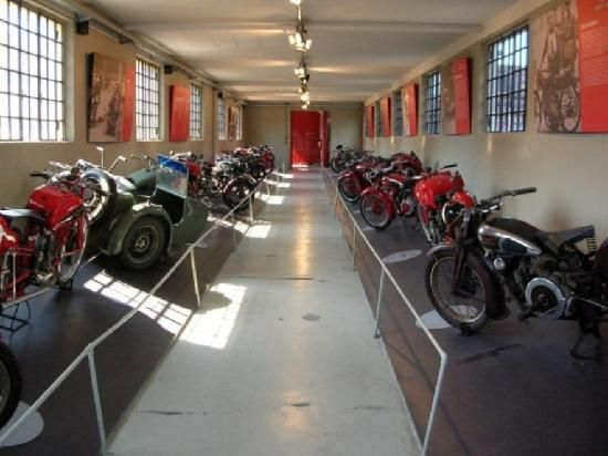 Moto Guzzi Museum is located in Mandello del Lario in the historic Guzzi factory founded in 1921. The museum contains a rich collection of over 150 pieces | Il museo Moto Guzzi è a Mandello del Lario, nella storica fabbrica Guzzi fondata nel 1921. Espone una ricca collezione di oltre 150 pezzi | #lake #Como #Lago #Italy #app #Guzzi #Moto #Museum
