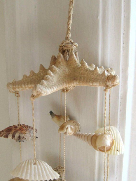 Island Chic Shell Wind Chime by PureJoyPaperie on Etsy