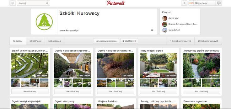 Jeśli ktoś kocha ogród, to nie może przegapić tego profilu ;) http://www.pinterest.com/szkolkikurowscy/