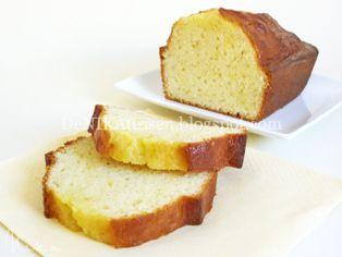 DeNIKAtessen - Recetas de Cocina: Orange Yogurt Cake ~ Bizcocho de Yogur y Naranja