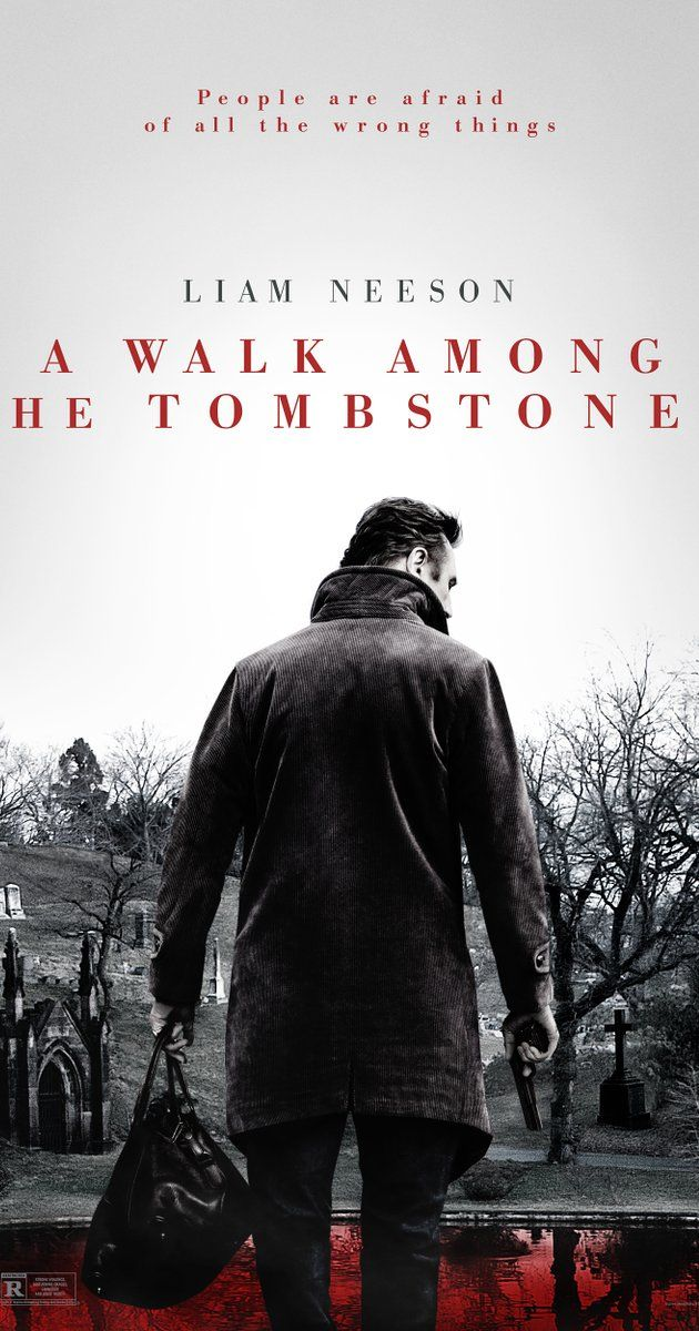 A Walk Among The Tombstones: As a retired police detective Neeson is hired to track down the killers and kidnappers of a drug dealer's wife. Nice fast movie with thrills and interesting plot. Neeson does a good job with terse dialogs, almost non-existent humour and quick action.