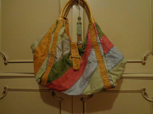 Borsa colorata - Colorful bag - Sac coloré - Vera pelle - ORIGINALE