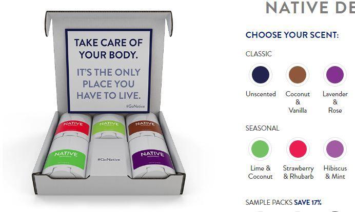 Pin by Banu thankur on (Reddit) Native Deodorant Coupon Code