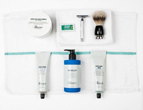 Grooming kit. Baxter Finley Barber & Shop