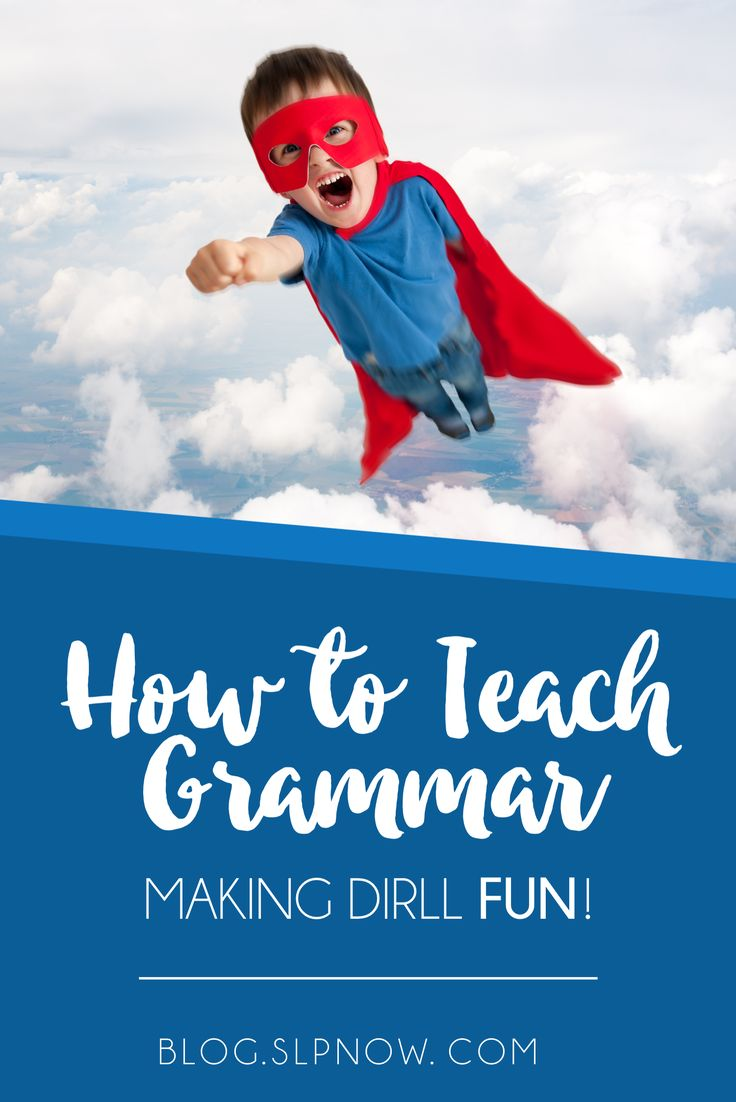 Grammar is not fun. I think we all know that. However, we can still work at making drill fun for our speech students. I'm sharing a few of my favorite ways to make grammar drill fun for students inside this blog post!