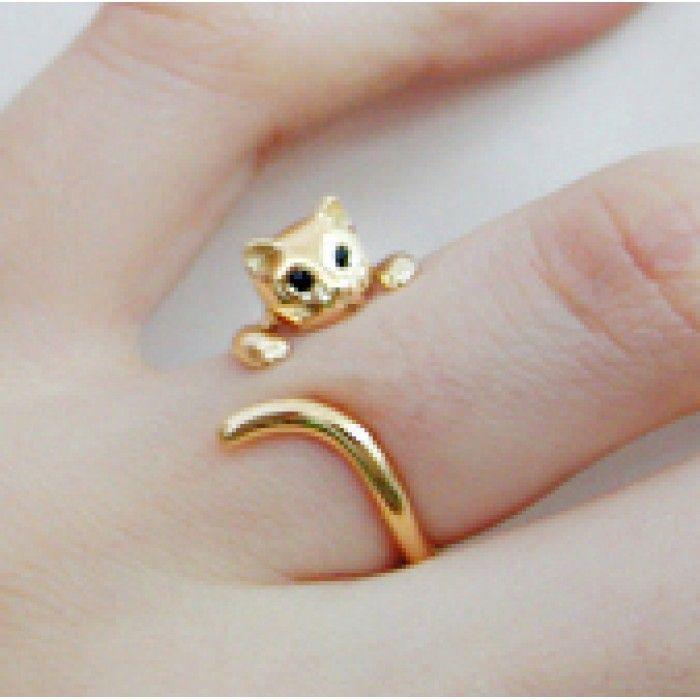 #Gold nabi #cat ring