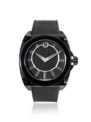 33% OFF Movado Men's 606363 Master Black Stainless Steel Watch