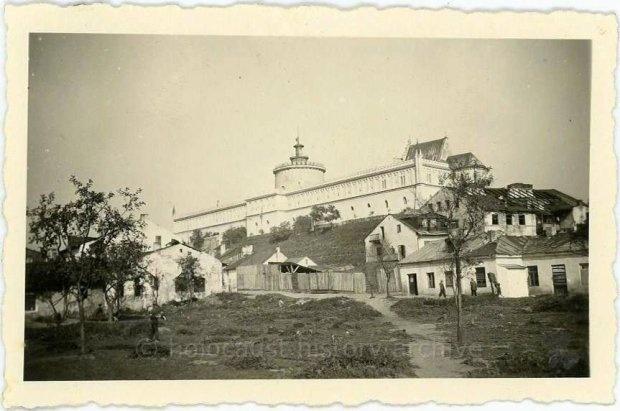 Zamek i fragment nieistnie   jącego Lublina