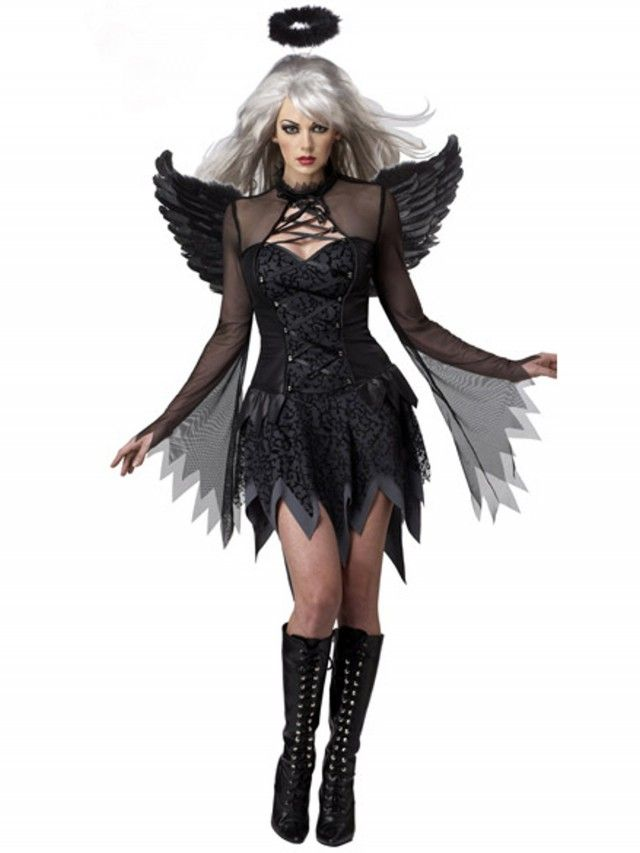 Disfraz de Angel Caido Mujer DF242 - Disfraces Sexy - Disfraces de Mujer