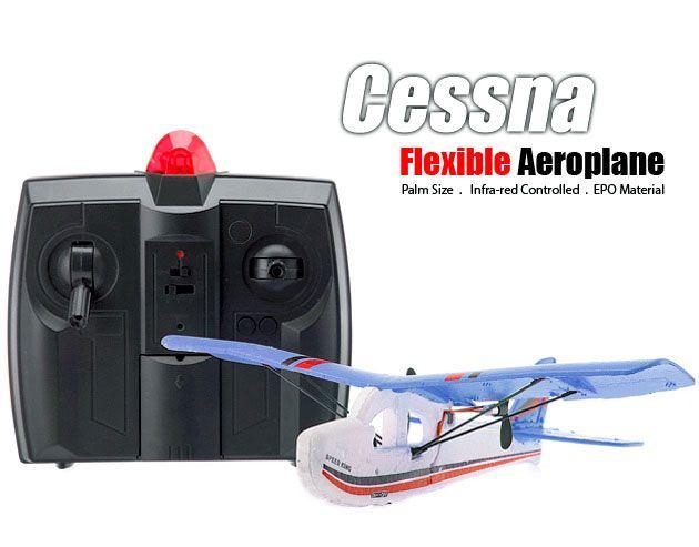 Cessna TW 781 Mini RC Airplane/Indoor Radio Control Plane (Blue) $40