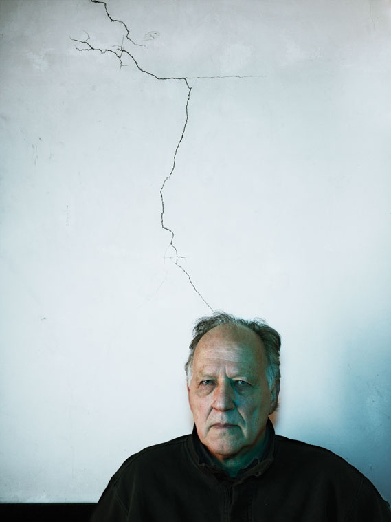 Photography Annual 2011, Editorial category: Werner Herzog III by Nadak Kander. Register for the 2012 Creative Review Photography Annual here: http://crmag.co.uk/LFLfgm