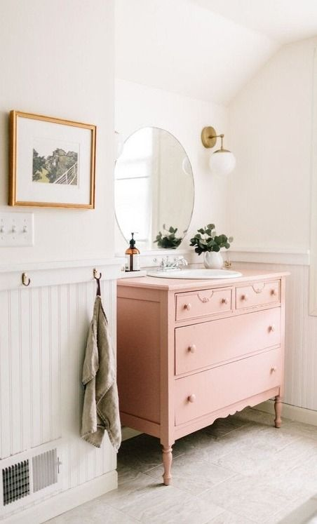 The Totally Transformative Addition Your Bathroom Needs. Beadboard  WainscotingWainscoting ...