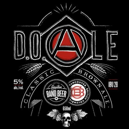 CBC Music & BC Craft Breweries Team Up For Canadian Band Beer Series. D.O.Ale, Pink Mountainhops, You Say Barley, We Say Rye!, and Said The Ale