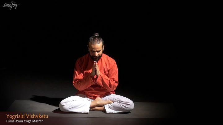 Thunderbolt Yoga Mudra Pose By Yogrishi Vishvketu