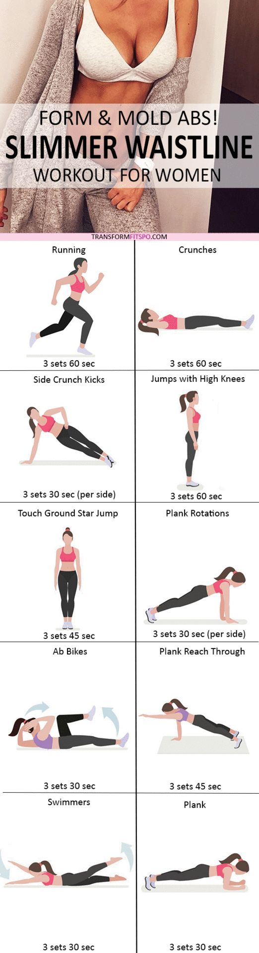Repin and share if this intense workout gave you shocking results! Read the workout post for all the information!