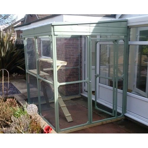 Bespoke Cat Runs are designed and used to keep your cats safe, secure and exercised outdoors whilst getting fresh air. Enclosures around doors and windows let the homeowner open the doors and windows in warmer months without fear of the cat escaping. Tunnels can be made to lead from existing cat