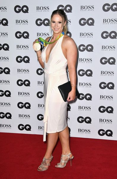 Sophie Hitchon arrives for GQ Men Of The Year Awards 2016 at Tate Modern on September 6, 2016 in London, England.