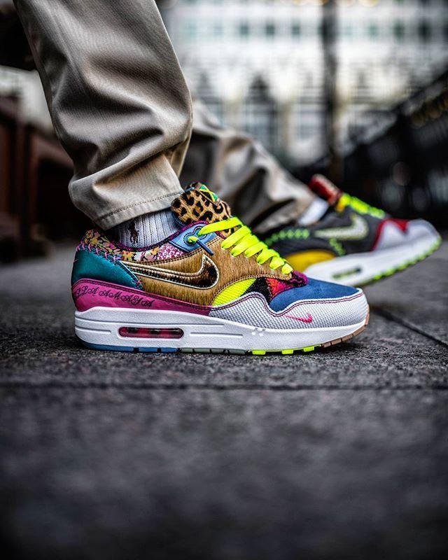 B E S P O K E On @solelove1 s feet. #am1bespoke #nikebespoke #airmaxalways  #nikesportswear # · Best SneakersNike ...