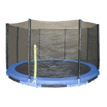 Max Ranger trampolin IN- Ground inkl. sikkerhedsnet Ø 396 cm  1700,-