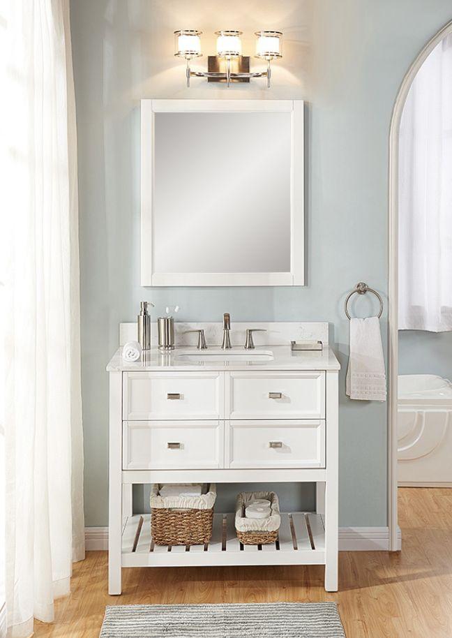 upstair vanity lowes 500 scott living canterbury white on lowes vanity id=84445