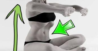 Questa semplice tecnica, che si ispira alle posizioni yoga, rinforzerà i muscoli addominali riducendo il girovita in sole 3 settimane. Se re...