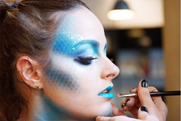 9 Epic Halloween Makeup Tutorials (No Costume Necessary) via @byrdiebeauty