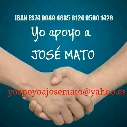 Apoyo a José Mato y Mary Tasende
