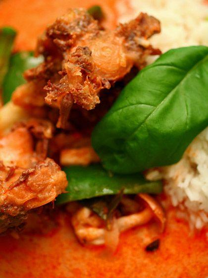 牛テールのレッドカレー(Thai curry)