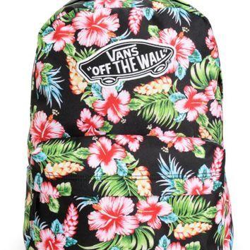 Рюкзак vans realm hawaiian black разноцветный киплинг рюкзак
