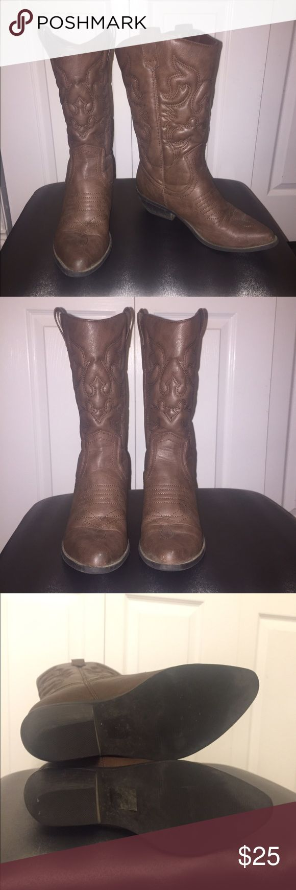 1000 ideas about brown cowboy boots on boots