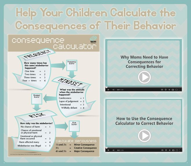 21 Creative Consequences- Disciplining our children takes dedication and effort.  It also helps to mix in a little creativity when needed.  The consequences below from parenting expert, Lisa Welchel, might seem a little strong, but let them inspire you to come up with your own, and pair them with the 7 Steps to Tried and True Discipline.