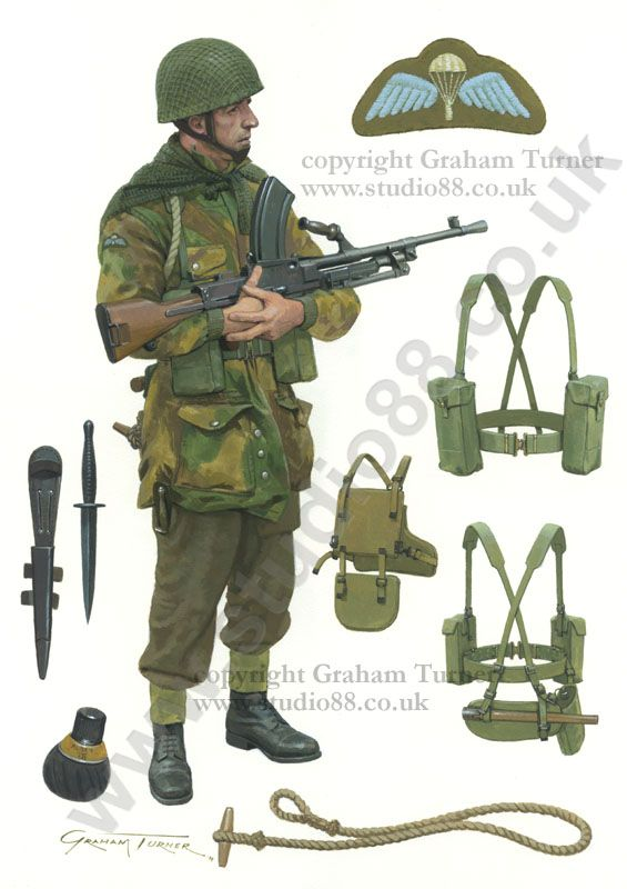 British Paratrooper 1944