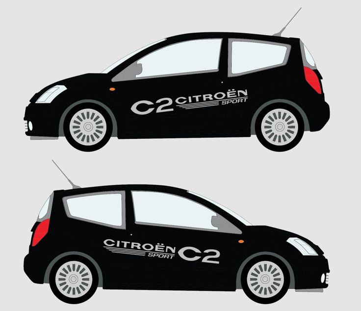 Citroen Sport C2 Car Decal