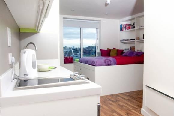 Studio Tyne Student Accommodation Newcastle upon Tyne - Pads for Students