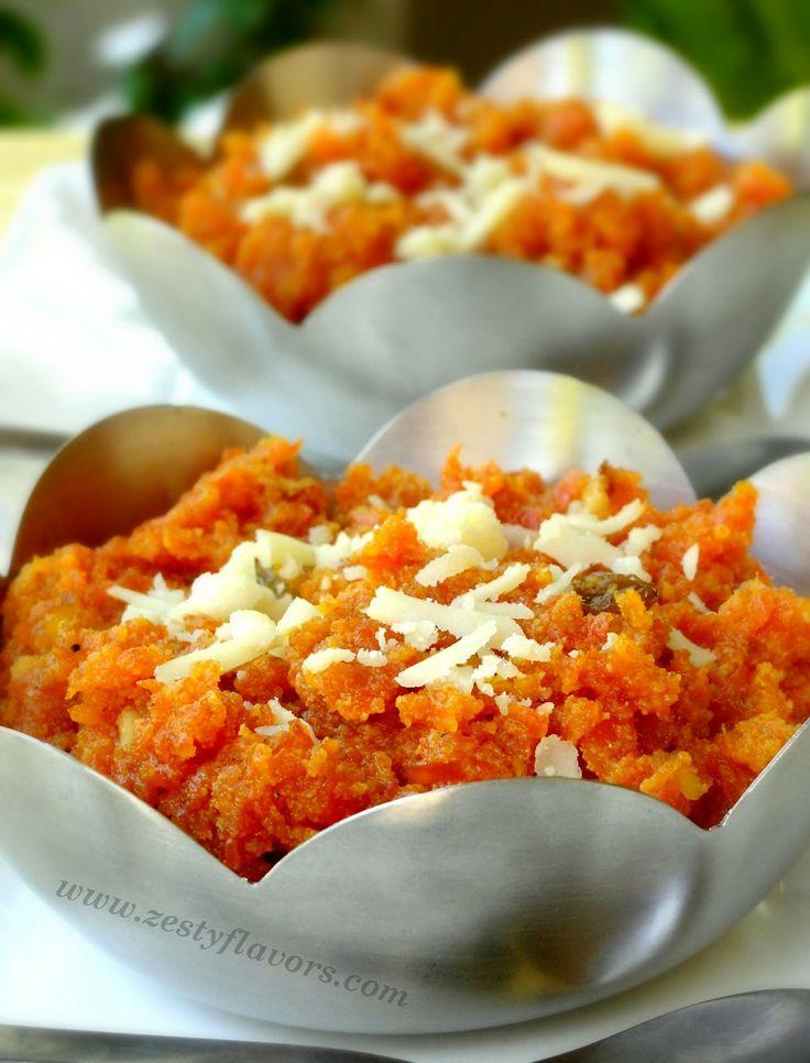 Gajar ka Halwa (Sweet Carrot Pudding) My favourite