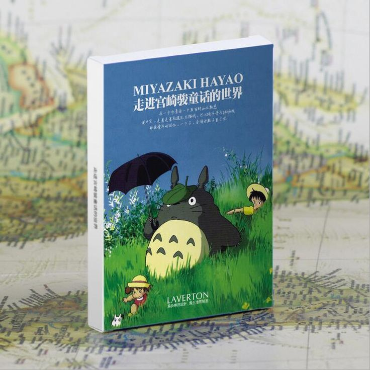 30pcs/pack New Cartoon Totoro Greeting Cards Gift Postcard Miyazaki Hayao Movie style/greeting cards/Christmas gift