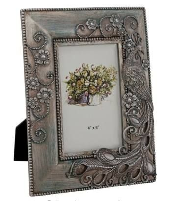 www.allthingspeacock.com - Peacock Photo Frames